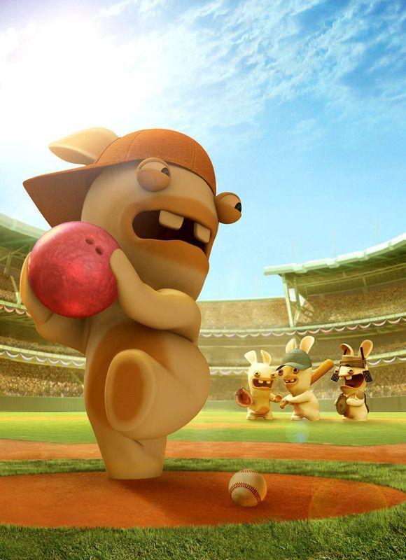 Lapins crétins baseball